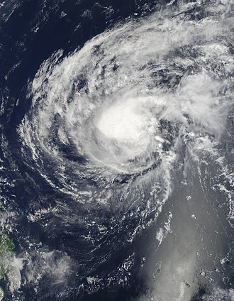 2010 Pacific typhoon season - Image: 02w Omais Mar 25 2010 01.35(UTC)