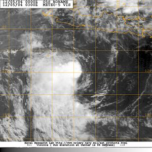 2004–05 Australian region cyclone season - Image: 05S 05 dec 2004 0300Z