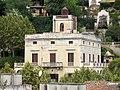 061 Can Cabanyes (Caldes d'Estrac), des del parc de Can Muntanyà.JPG