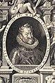 09. Aegidius Sadeler, podle Hanse von Aachena, Portrét císaře Rudolfa II., 1603, Uměleckoprůmyslové muzeum v Praze.jpg