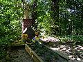 0908130273 - Jeziorki - zespół dworski i folwarczny - grób ostatniego właściciela.JPG