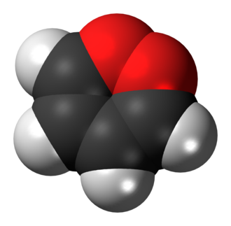 1,2-Dioxin - Image: 1,2 Dioxin 3D spacefill