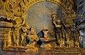 1010 CE Brihadishwara Shiva Temple, linga and painting, built by Rajaraja I, Thanjavur Tamil Nadu India.jpg