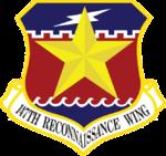 147th Reconnaissance Wing - Emblem