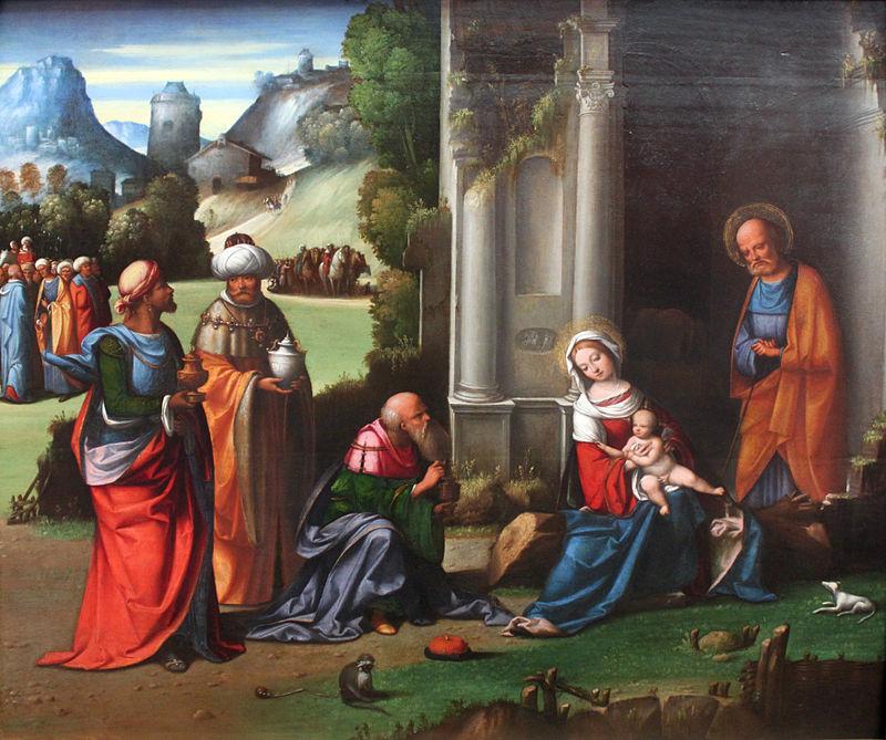 1509 Garofalo Adoration of the Magi anagoria.JPG