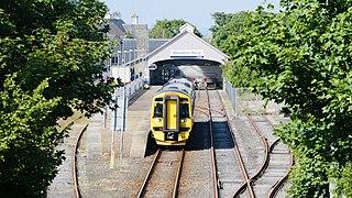 Thurso railway station Railway station in Highland, Scotland
