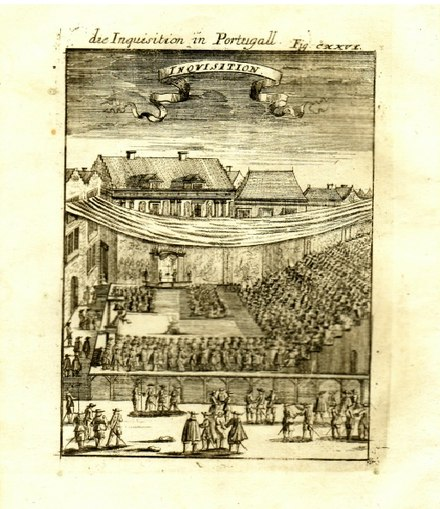 "A copper engraving from 1685: ""Die Inquisition in Portugall"" 1685 - Inquisicao Portugal.jpg"
