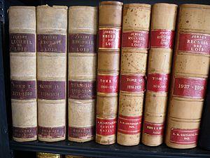 Law of Jersey - Recueil de Lois de Jersey from 1771