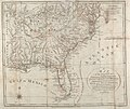 1792 map of the States of Virginia, North Carolina, South Carolina and Georgia (7024153737).jpg