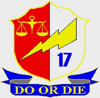 17th Infantry Battalion (Philippines) - Unit Seal of the 17th Infantry Battalion
