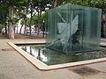 182 Homenatge a Picasso, d'Antoni Tàpies.JPG