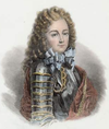 1845 print of Philippe, Chevalier de Vendôme , Duke of Vendôme by an unknown artist.png