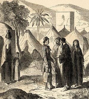 1860 Mount Lebanon civil war - Christian refugees during the strife