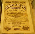 1873 South Side Railroad of Long Island Sea Side Travel Broadside Poster.jpg