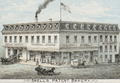 1876 Snell bakery detail from View of the City of New Bedford, Mass by O H Bailey and Co BPL 10177.png