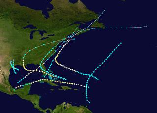 1888 Atlantic hurricane season hurricane season in the Atlantic Ocean