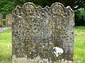 18th century gravestone, Chilham.JPG