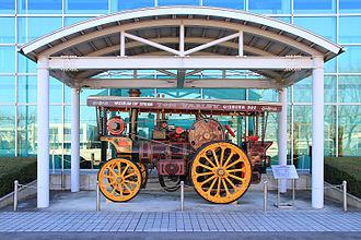 Bandai Museum - 1919 Garrett Showmans Steam Tractor