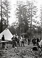 1923. Control camp at Pole Flat. Meryl Creek Unit. Southern Oregon Northern California beetle control project. (37263451064).jpg