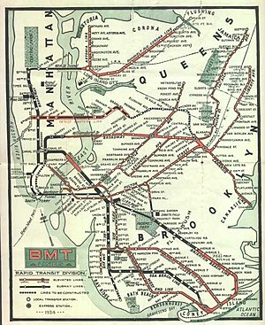 Mta Subway Map In 1990.History Of The New York City Subway Wikipedia