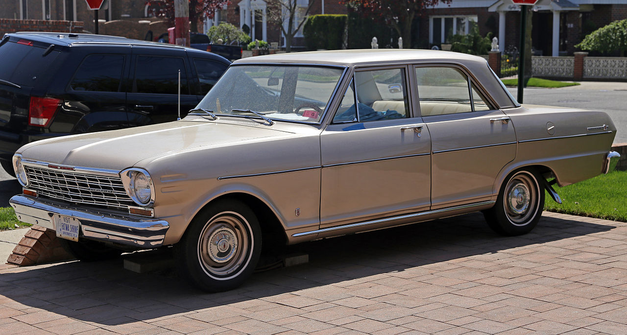 All Chevy 1964 chevy ii : File:1964 Chevrolet Chevy II 100 4-door sedan, Fleft.jpg ...