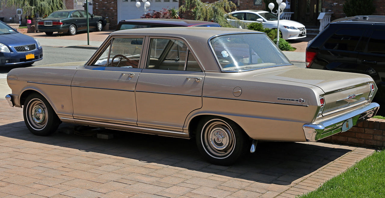 All Chevy 1964 chevy ii : File:1964 Chevrolet Chevy II 100 4-door sedan, Rleft.jpg ...