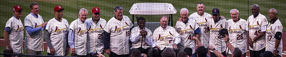 1967 St.Louis Cardinals Reunion team