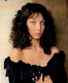 Mariangela Melato nel marzo del 1974.