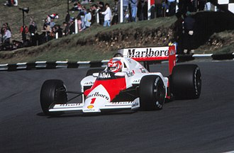 John Watson (racing driver) - Watson during practice for the 1985 European Grand Prix, his last ever F1 race.