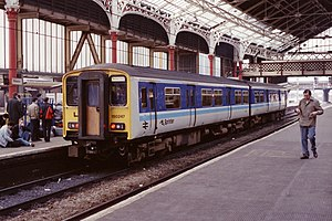 British Rail Class 150 - Class 150/2 in BR Sprinter livery
