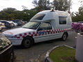 1993-1994 Holden VR Commodore utility (Brunei Ministry of Health ambulance) 01.jpg