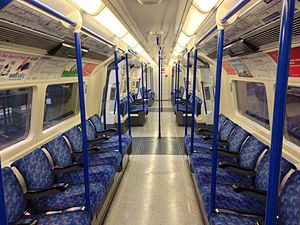 London Underground 1995 Stock - Image: 1995TS Interior (25363492442)
