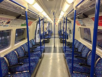 London Underground 1995 Stock - Image: 1995TS Interior (25363492442)