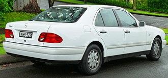 Mercedes-Benz E-Class (W210) - Sedan (pre-facelift)