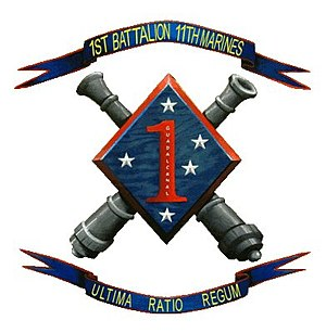 1st Battalion, 11th Marines - 1/11 Insignia