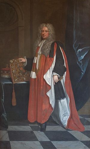 Thomas Parker, 1st Earl of Macclesfield - The Earl of Macclesfield, by Sir Godfrey Kneller.