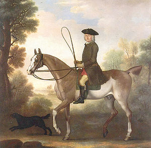 James Seymour - Portrait of Thomas Gage by James Seymour, 1743