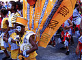 2005-08-28 - London - Notting Hill Carnival - Kids in Costume - Yellow (4888267904).jpg