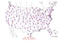 2006-04-14 Max-min Temperature Map NOAA.png