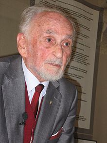 Edward Kossoy in Warsaw in May 2007