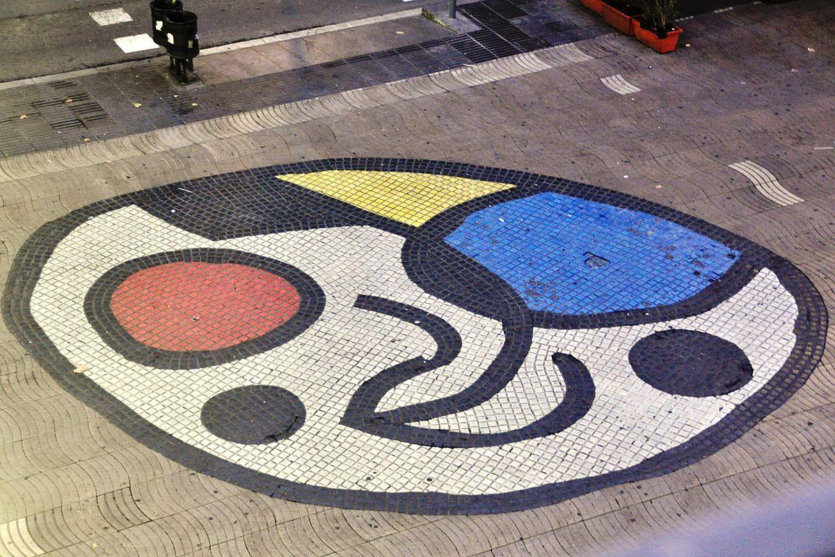 Resultado de imagen de mosaicos miro