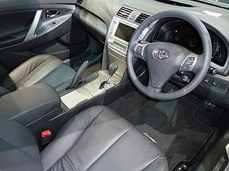 Toyota Camry (XV40) - Interior