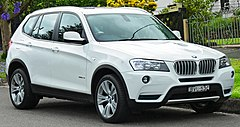 BMW X3 II przed liftingiem