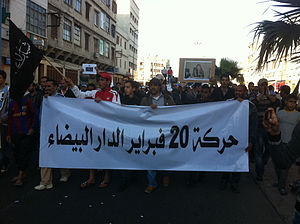 Youth unemployment - 2011 Moroccan protests