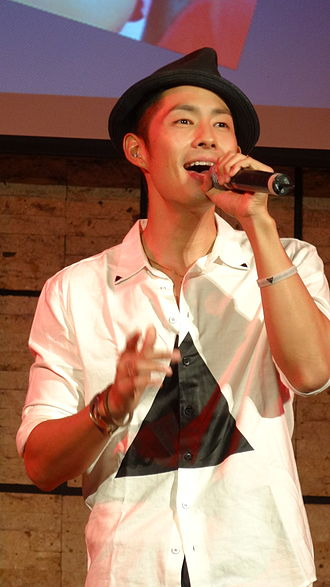 Vanness Wu - Wu at the Joyful Family Music Event in 2012