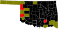 2012 Oklahoma Democratic Primary by County.png