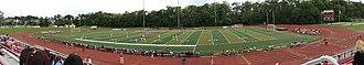 Village of Lisle-Benedictine University Sports Complex - Image: 2013 06 09 Benedictine University Stadium