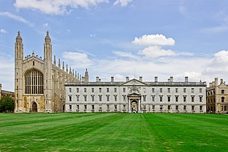 Gates Cambridge Scholarship - King's College at Cambridge University