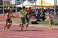 2013 IPC Athletics World Championships - 26072013 - Maria Fiuza and Joao Campos of Spain, Amanda Crotty and Kevin Nolan of Ireland and Elena Pautova of Russia during the Women's 1500m - T12 first semifinal.jpg