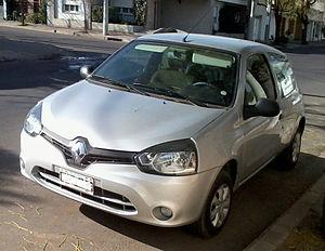 Renault Argentina - Image: 2013 Renault Clio Mio Front
